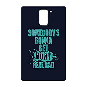 100 Degree Celsius Back Cover for One plus one (Designer Printed Multicolor)