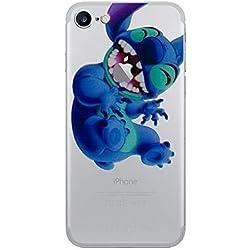 """iPhone 6 Plus/6s Plus Stitch Étui en Silicone / Coque de Gel pour Apple iPhone 6S Plus 6 Plus (5.5"""") / Protecteur D'écran et Chiffon / iCHOOSE / En Riant"""