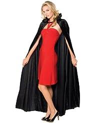 Rubie 's Offizielles Halloween lange Crushed Samt Umhang, Erwachsenen Kostüm–EINE Größe
