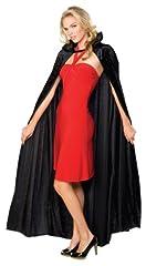 Idea Regalo - Rubie' s Costume ufficiale adulto Halloween lungo mantello in velluto–nero, taglia unica