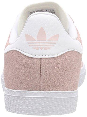 sports shoes 7c93d ec8ff Adidas Gazelle J, Zapatillas de Gimnasia Unisex Niños, Rosa Icey Pink  F17Ftwr WhiteGold Met ...