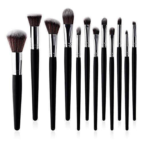Hochwertiger Augenpinsel Pinselset Kosmetik Lidschattenpinsel Make Up Pinsel 12 Make-Up Pinsel Set...