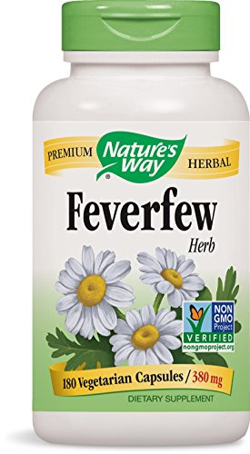 Natures Way Feverfew, 180 Caps Test