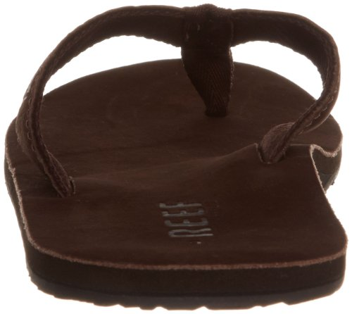 Reef LEATHER SMOOTHY BROWN R0232BRO, Tongs homme Marron (Brown)