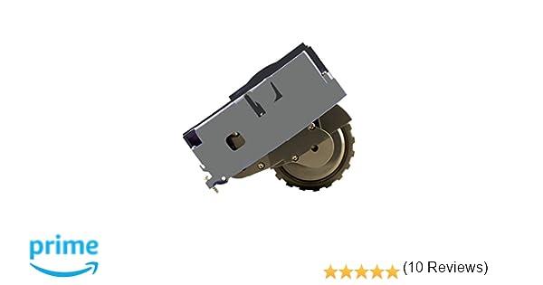 compatibile con aspirapolvere  iRobot Rumba Serie 6 di alta qualit/à. Ruota laterale destra per aspirapolvere Roomba 620 Serie 600 Ricambio originale ASP ROBOT