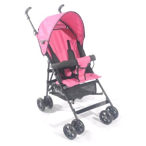 Kidmeister Buggy Jogger Kinderwagen Baby Sitzbuggy Sportwagen Babywagen OVP (Pink S-2)