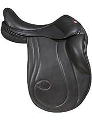 "Karlslund Riding Equipment C - Silla de uso general para hípica, color negro, talla 17-""/46 cm"