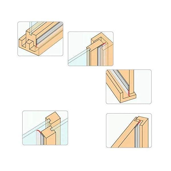 Paraspifferi-a-Forma-di-PortaGWHOLE-Porta-Sweep-Porta-Guarnizione-Inferiore-Paraspifferi-a-Forma-di-Striscia-Weather-Stripping-8-m
