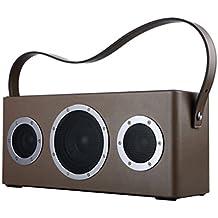 Ggmm M4play-n-go Portable Wi-Fi e Bluetooth, colore marrone