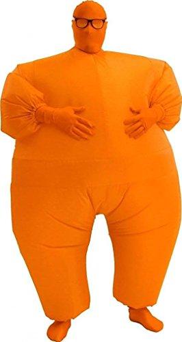 (Chub Suit Men's Inflatable Costume (Teen Orange))