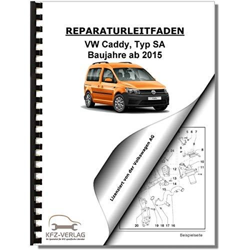 VW Caddy (15>) Karosserie-Montagearbeiten Innen - Reparaturanleitung