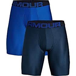 Under Armour Tech 9In 2 Pack Ropa Interior, Hombre, Azul (Royal/Academy 400), M