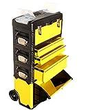 Metall Werkzeugtrolley XXL Type B305ABCD - jetzt neu mit Schubladenverriegelung und Schloss von AS-S