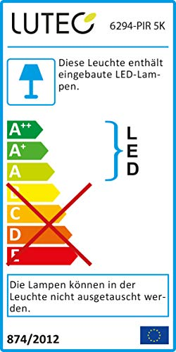 Lutec Energiesparend und langlebig durch moderne LED-Technologie