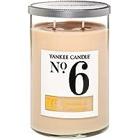 Yankee Candle Coconut & Pineapple 2 Wick Tumbler Candele, Vetro, Beige, 9.7 x 9.8 x 14.4 cm