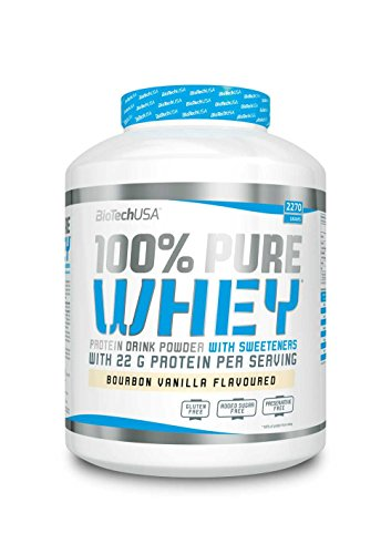 BiotechUSA 100% Pure Whey 2270 g Schokolade-Kokosnuss