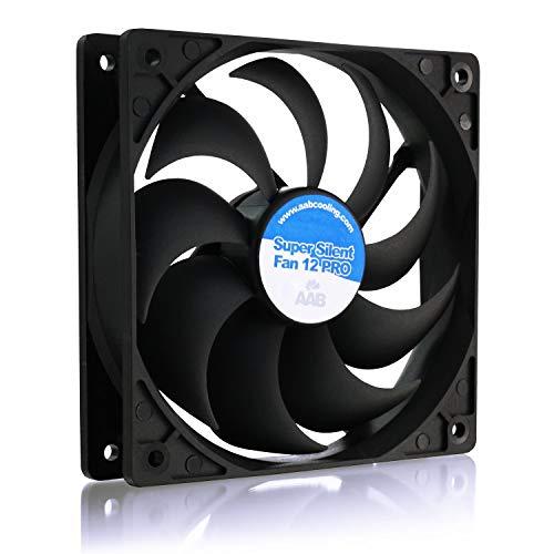 AAB Cooling Super Silent Fan 14 PRO - Una Silenziosa e Molto Efficiente 140mm Ventola per Case PC, Alimentatore PC, Ventilatore 12V, Cooling Fan, 14cm, 3 Pin Ventola per Computer