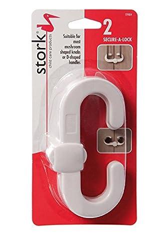 Stork Child Care Secure A Lock Cupboard Lock (2 Pack)