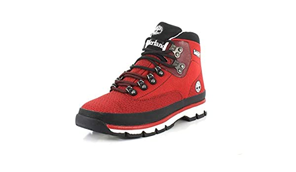 Timberland Euro Hiker Jacquard Homme Bateau Rouge 45,5 Red