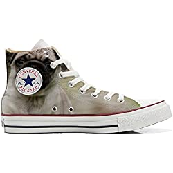 Converse All Star Customized - zapatos personalizados con un Carlino