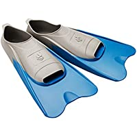 DAM Mad Wave Piscina Color Corto Aletas, Unisex, Pool Colour Short, Azul, Size 44-45