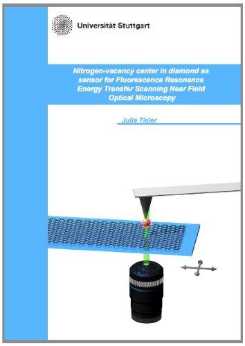 Nitrogen-vacancy center in diamond as sensor for Fluorescence Resonance Energy Transfer Scanning Near Field Optical Microscopy -