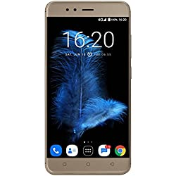 InFocus Turbo 5 (Glittering Gold, 32GB, 5000mAH Battery)