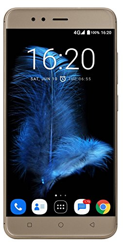 InFocus Turbo 5 (Mocha Gold, 32GB, 5000mAH Battery)