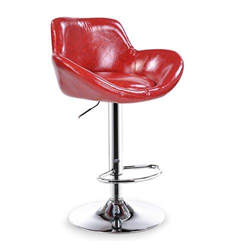 Rabatt-lift Stühle (ZDNALS Barhocker, Barstuhl Lift Rotating High Stuhl Haushalt Rückenlehne Stuhl Makeup Stuhl (Color : #1))