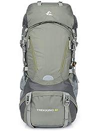 ae1695c045 JESSIEKERVIN YY3 Escursionismo Borsa da Trekking da 60 l Escursionismo da  Montagna Zaino da Viaggio Confortevole