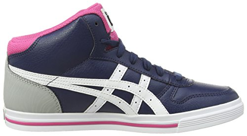 Onistuka Tiger Aaron Mt Gs, Chaussures Multisport Outdoor Mixte enfant Bleu (True Blue/White/Neon Pink 6001)