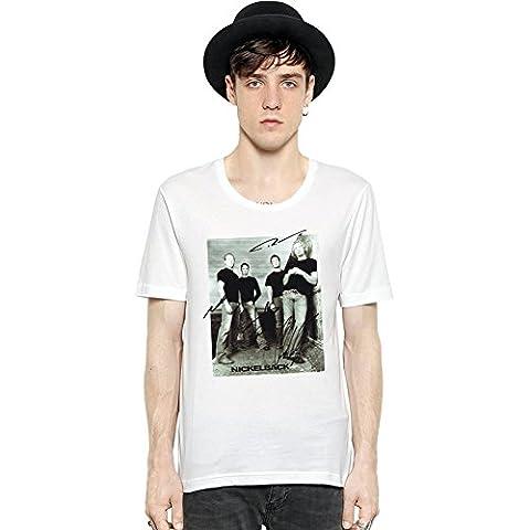 Nickelback Rock Band Short Sleeve Mens T-shirt