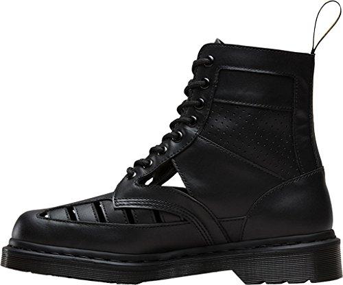 Dr. Martens  21877100, Chaussures de ville à lacets pour femme Noir
