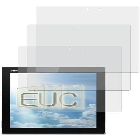 3 x Displayschutzfolie matt/entspiegelnd für Sony Xperia Z2 Tablet