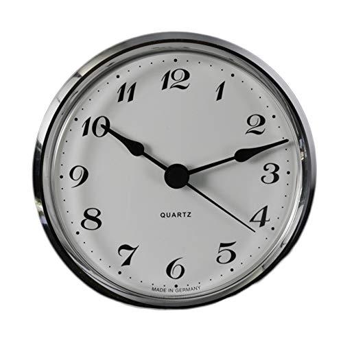 Cloxinelle Uhrwerk | Einsteckuhrwerk | Einbau-Uhr | Modellbau-Uhr | Quartz Uhrwerk | Ø 103 mm | Nr.8077