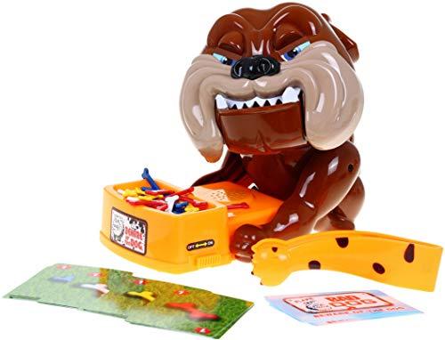 HUKITECH Wütender Hund Spiel Geschicklichkeitsspiel Aktionsspiel Partyspiel Gesellschaftsspiel Dog Reflex Game - Familienspiel mit hohem Spaßfaktor -