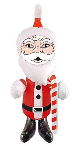 German Trendseller® - Weihnachtsmann Aufblasbar ┃ Weihnachten ┃ Dekoration ┃ Santa Claus ┃ NEU (Vintage Engel Kostüm)