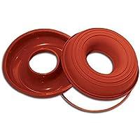 SFT205 Molde de silicona Savarin, color terracota