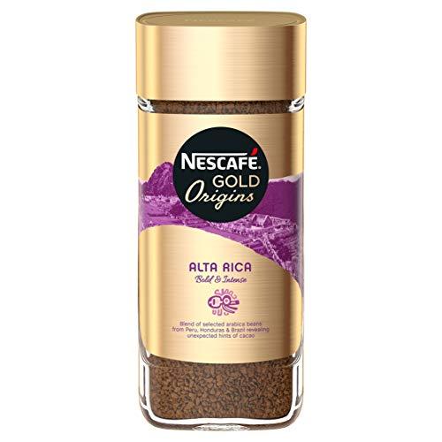 A photograph of the Nescafé Alta Rica instant coffee