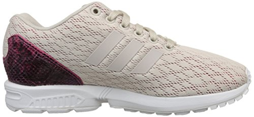 adidas Zx Flux, Baskets Basses Femme Rose (Pearl Grey/Pearl Grey/Joy Pink)
