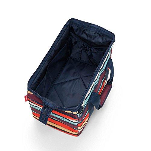 Reisenthel allrounder Reisetasche, 40 cm, 18 L, Spots Navy Artist Stripes