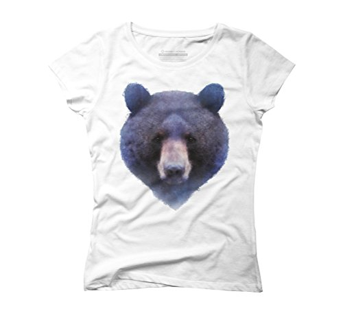 Black Bear Women's Graphic T-Shirt - Design By Humans White
