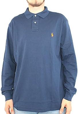 Polo Ralph Lauren para hombre camiseta de manga larga Azul PD21