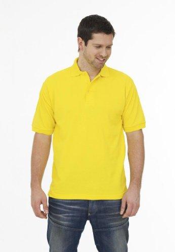 MAKZ Herren Poloshirt Gelb - Gelb