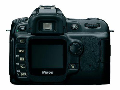 Nikon D50 SLR-Digitalkamera (6 Megapixel) schwarz + DX 18-55 - 4