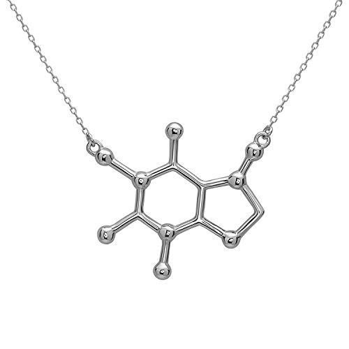 koffein-molekul-anhanger-halskette-aus-925-sterling-silber-by-serebra-jewelry-rhodium-uberzug