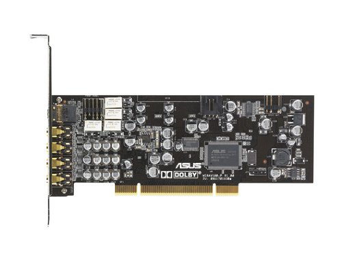 Interne Soundkarte Pci (Asus Xonar D1 interne PCI Soundkarte 7.1, Digital Out, Dolby Technik, Eax, 192kHz 24bit, Low Profile)