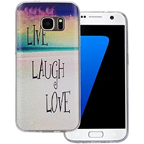 Ouneed® Case Cover Multi Color TPU Per Samsung Galaxy S7