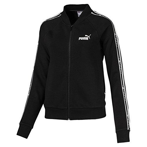 Puma Damen Tape FZ TR Jacke, Cotton Black, XL