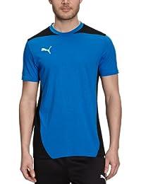 PUMA - Camiseta de fútbol sala para hombre, tamaño S, color azul marino -